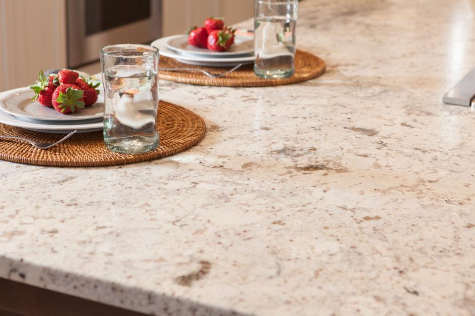 Granite Countertops Add Organic Texture