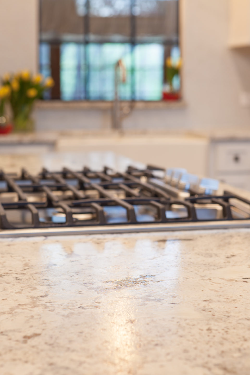 Cooktop Close to Pots and Pans