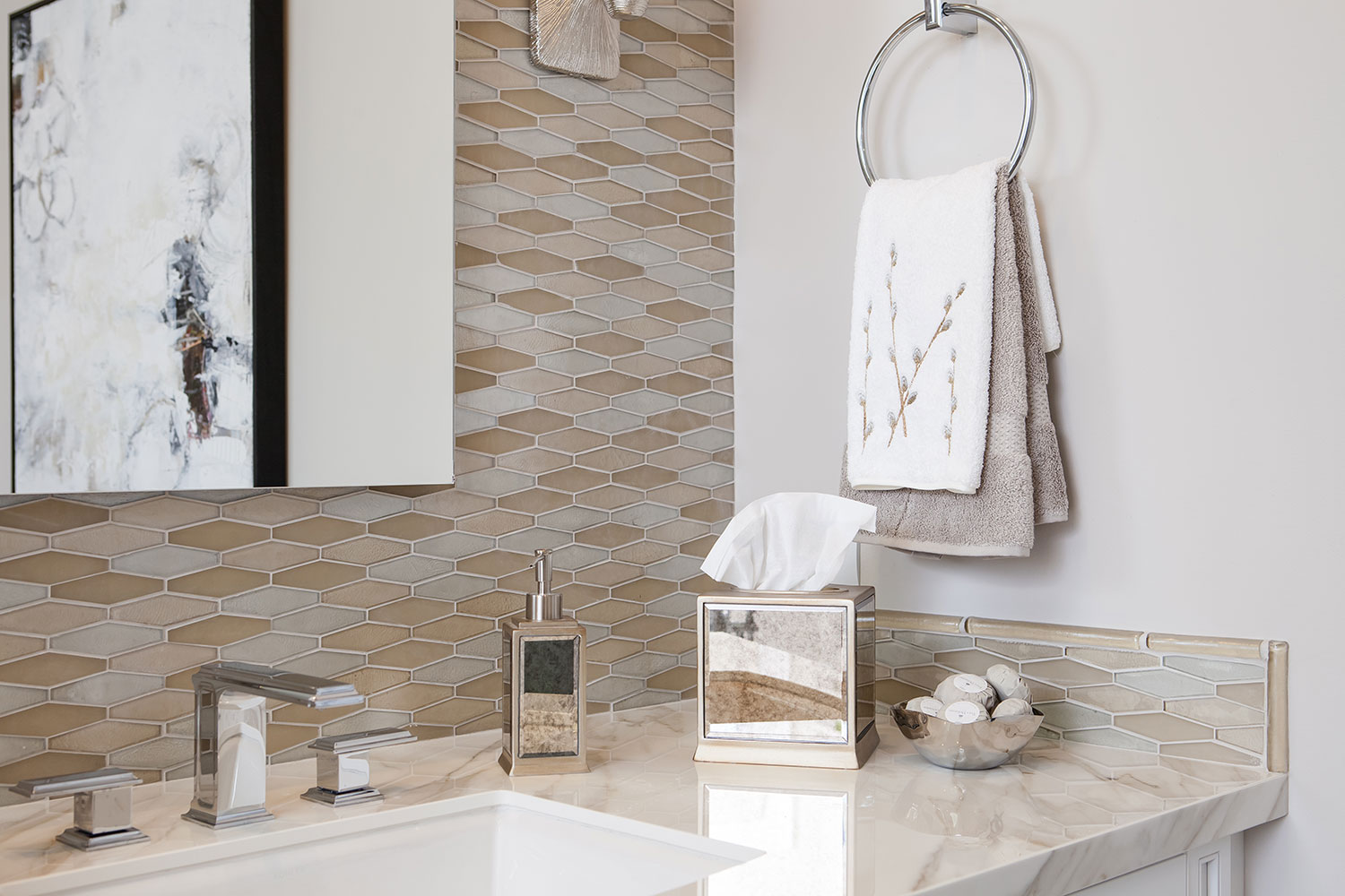 Rectangular Sinks and Faucets