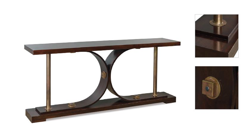 abner henry console table