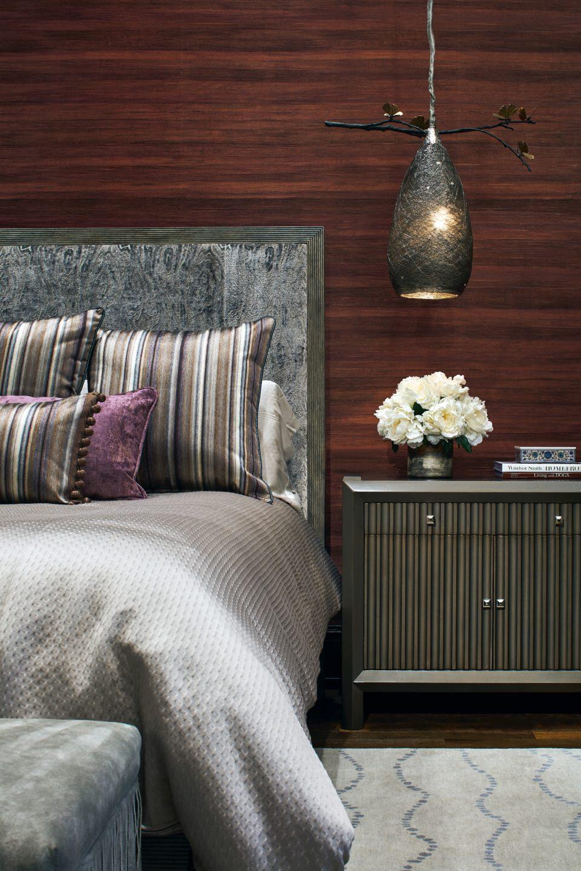 Master Bedroom Pendant Light Over Night Stand
